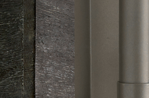 Photo of Carbon Grey and Iron Silk