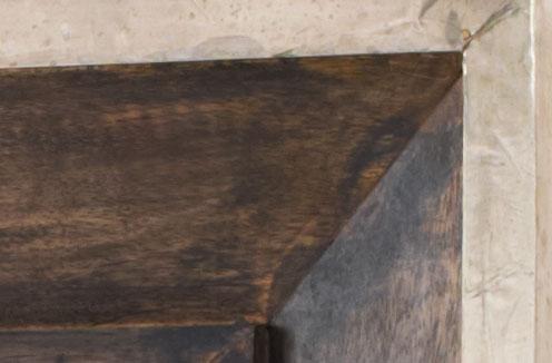 Photo of Espresso Brown Wash and Antiqued Aluminum