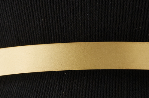 Photo of Black Rope and Patinaed Brass