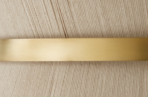 Photo of Bleached Natural Rope and Patinaed Brass