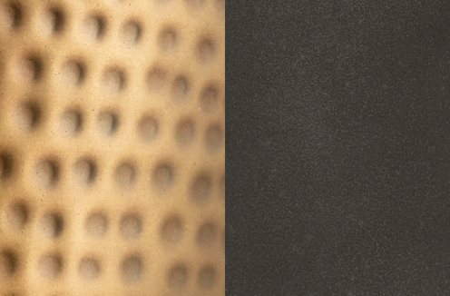 Photo of Patinaed Brass and Dark Zinc