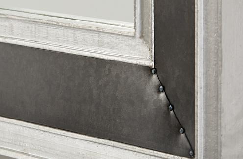 Photo of Galvanized Black and Aluminum